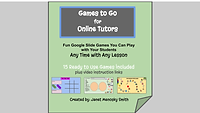 15 Games to Go for Online Tutors cover.p