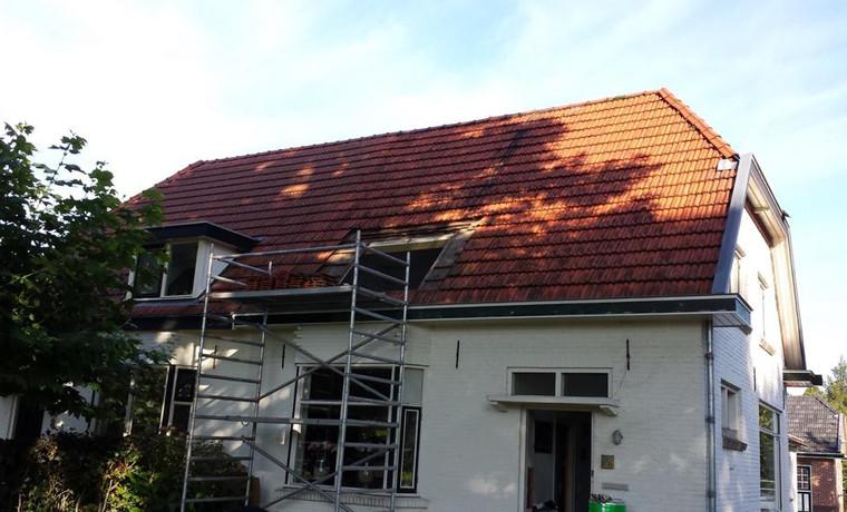Nieuw dak in Pannerden