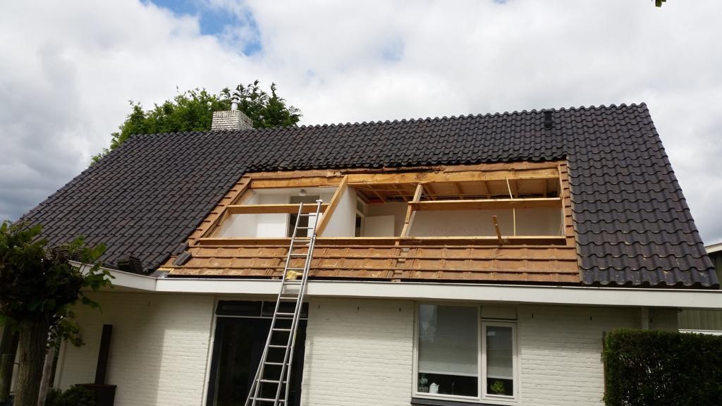 Totaal nieuwe dakkapel Pannerden
