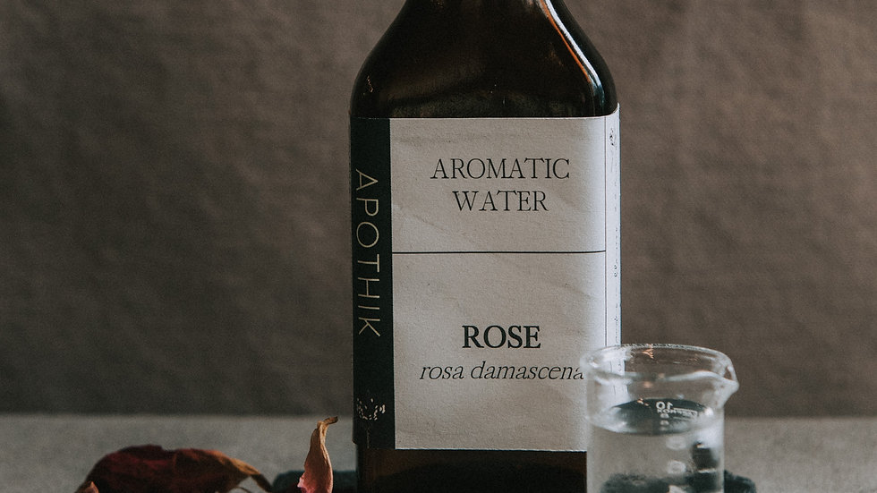 Rose Aromatic Water