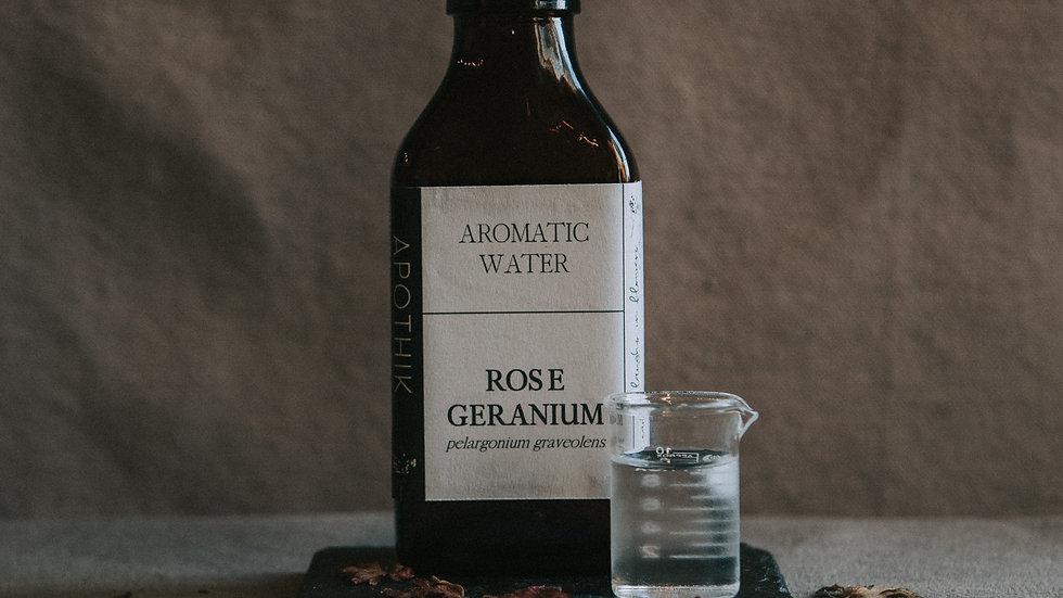 Rose Geranium Aromatic Water