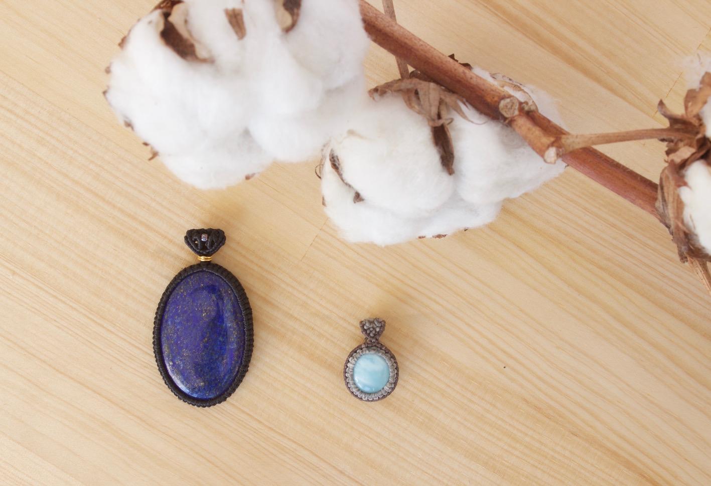 Lapis Lazuli y Larimar