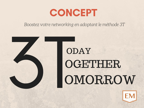 Networking - Les 3T