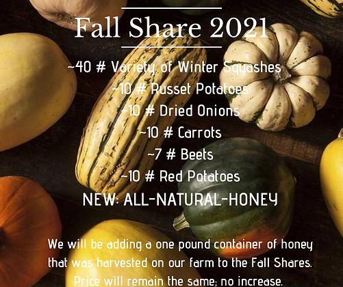 **Fall Storage Share