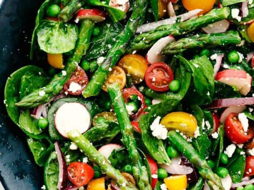 Asparagus Salad with Lemon Vinegrette
