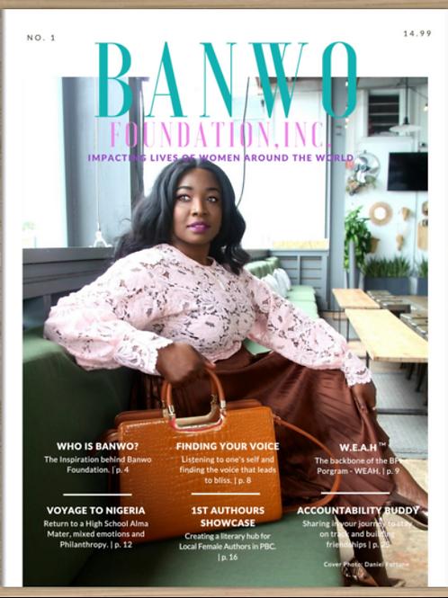 Banwo Foundation Magazine - Issue No. 1