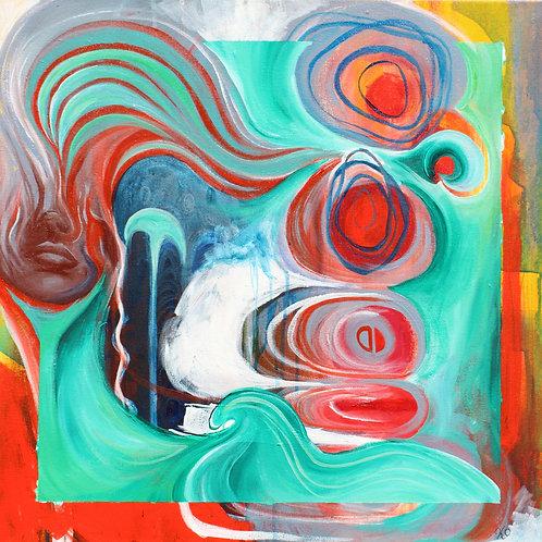 Tangerine Dream Original Painting
