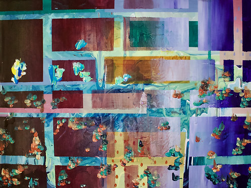 The Last Gumdrop Original Painting
