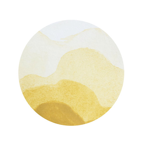 Naples Yellow Magnetised Watercolour half pan