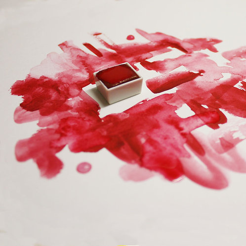 Rose Madder Magnetised Watercolour half pan