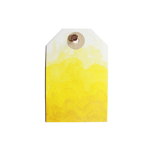 Yellow Magnetised Watercolour half pan
