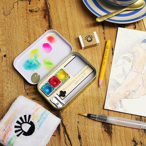 The Sketching Tin Plus 3 Colourways
