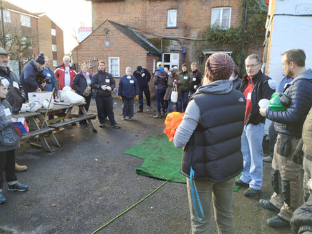The Swan - Volunteer Site Clearance