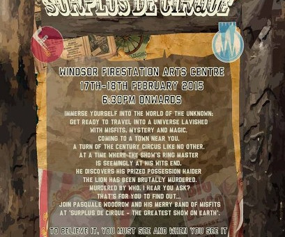 Come and see Surplus de Cirque