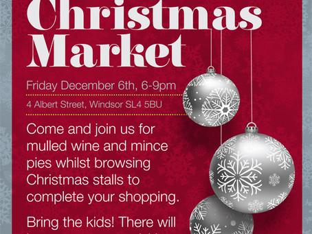 It's today! The Everyday Arts Christmas Market - Don't miss it!