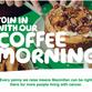 Save the date - MacMillan Coffee morning