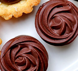 drop off finger food - petite belgian choc raspberry bite - $75 (24 pieces)