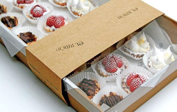 drop off finger food - petite sweet tarts - $90 (24 pieces-three varieties)