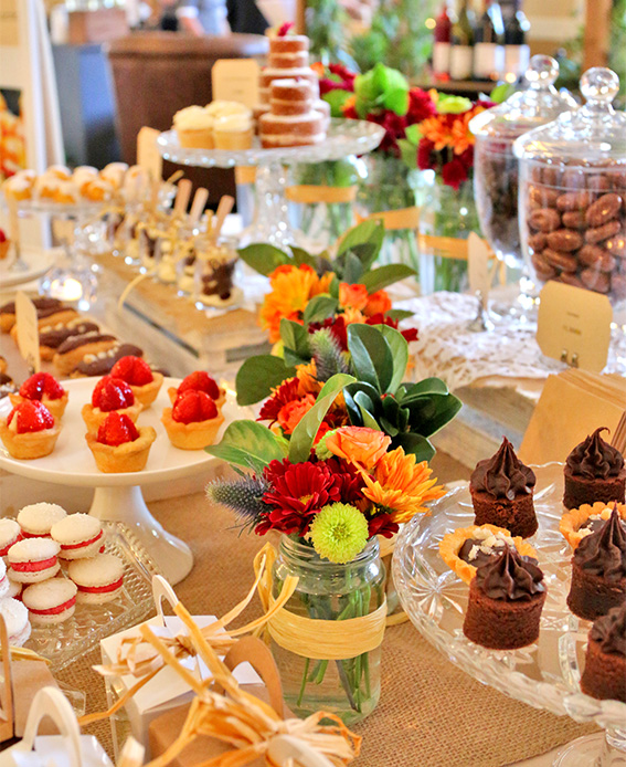 dessert table adelaide catering