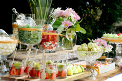 dessert candy table