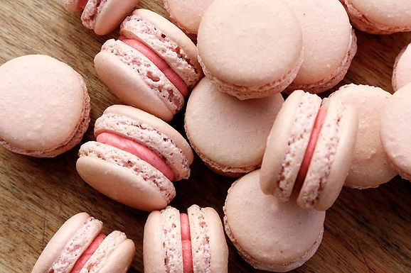 drop off finger food-French macarons -$90 (40 pieces)