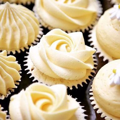 drop off finger food-petite vanilla bean cupcakes - $75 (24)