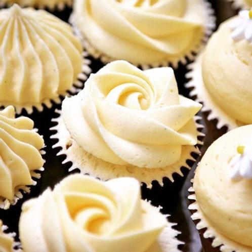 drop off finger food - petite cupcakes - $75 (24 pieces - two varieties)