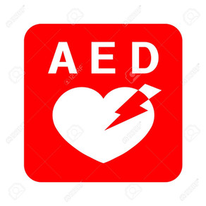 Defibrillator at WBC with video showing how to use on this post