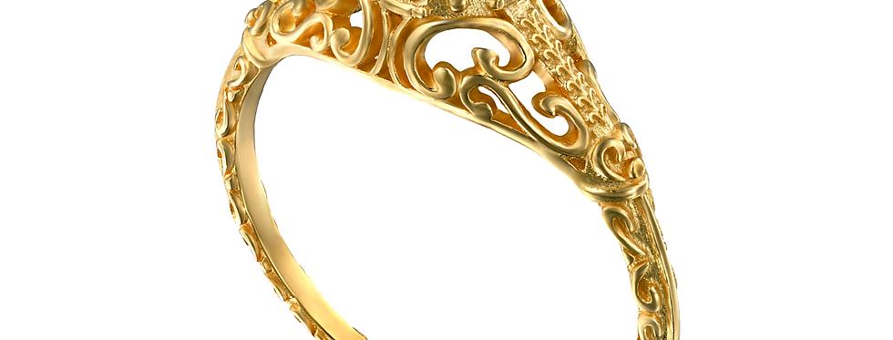 טבעת אירוסין ויקטוריה חצי קראט