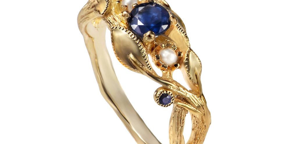 טבעת אירוסין היער הכחול