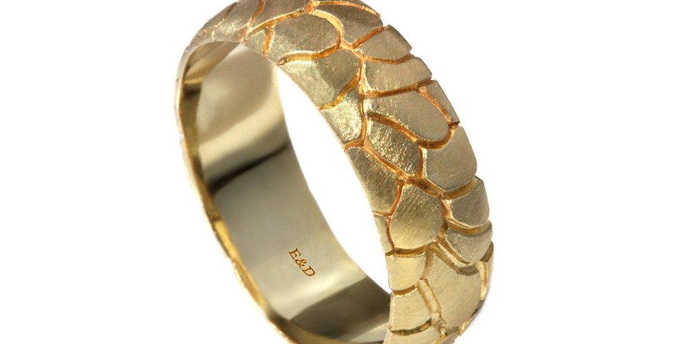 טבעת נישואין חומת זהב