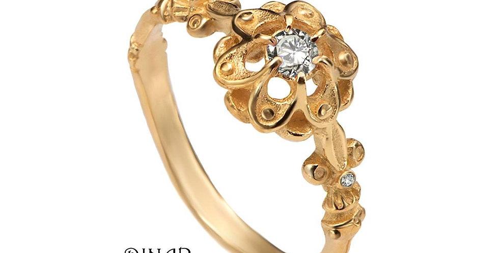 טבעת אירוסין יהלום הצאר