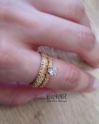 טבעת נישואין ואירוסין יהלומים שינוי מידת טבעת לאחר רכישה