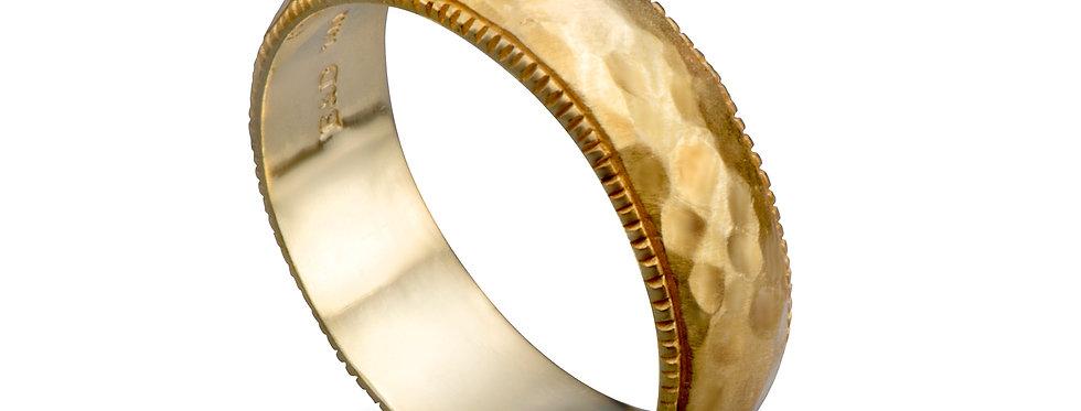 טבעת נישואין ריקועי צללים