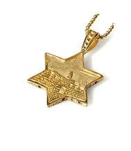 תליון זהב מעוצב לגבר מתנה לבר מצווה מגן דוד חמסה תכשיט מעוצב מתנה לגבר מעצב תכשיטים חיפה קריות והצפון חנות תכשיטים