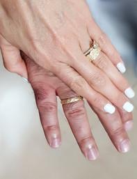 טבעות נישואין מעוצבות לחתן ולכלה
