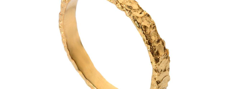 טבעת נישואין טקסטורה אמא אדמה