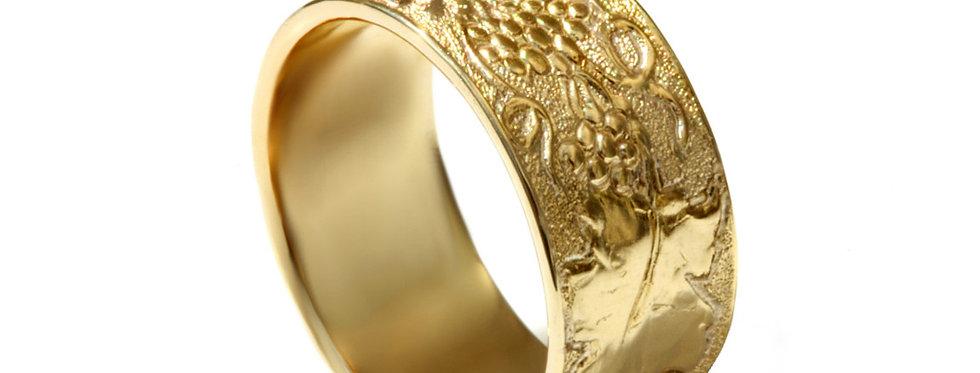 טבעת נישואין גפן פוריה