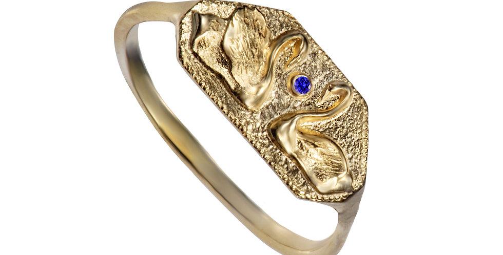 טבעת חותם אגם הברבורים