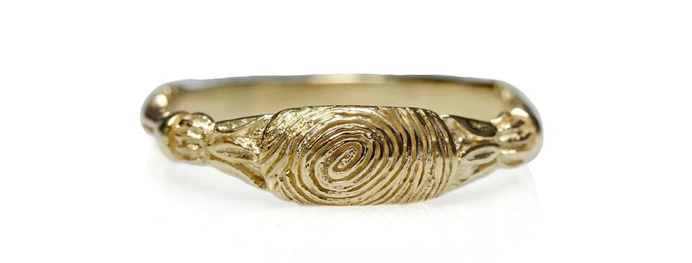 טבעת טביעת אצבע עתיקה