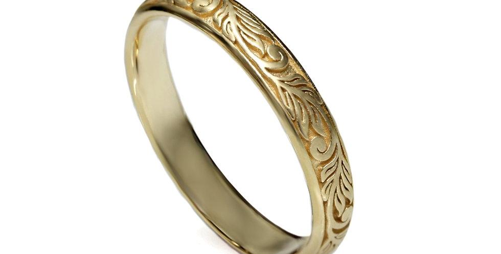 טבעת זר עלים