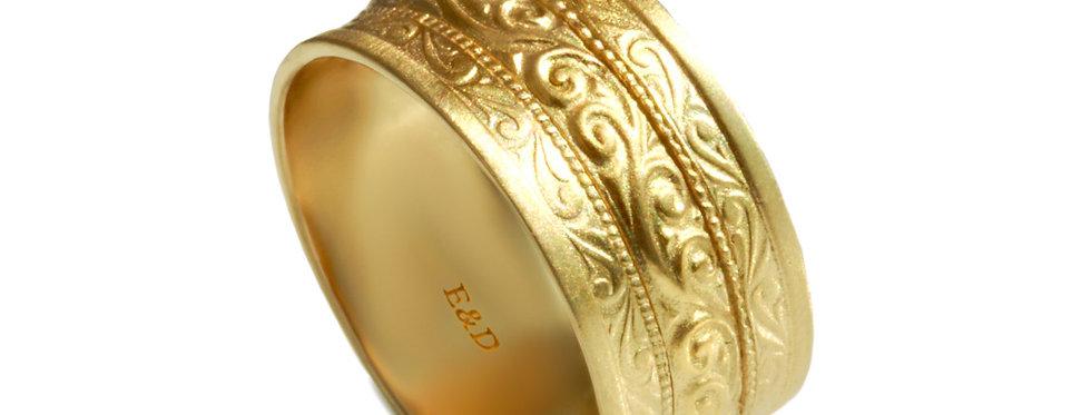 טבעת נישואין אוצרות רחבה