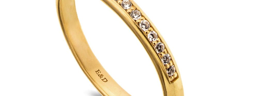 טבעת שיבוץ צרפתי