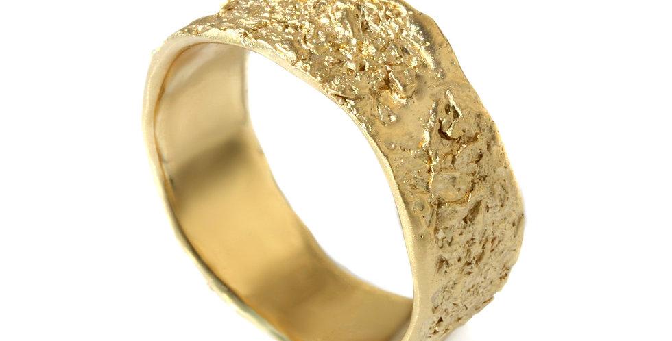 טבעת נישואין אבן אורגנית