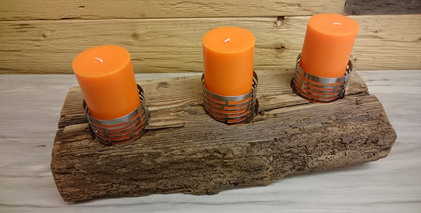 Altholz Kerzen
