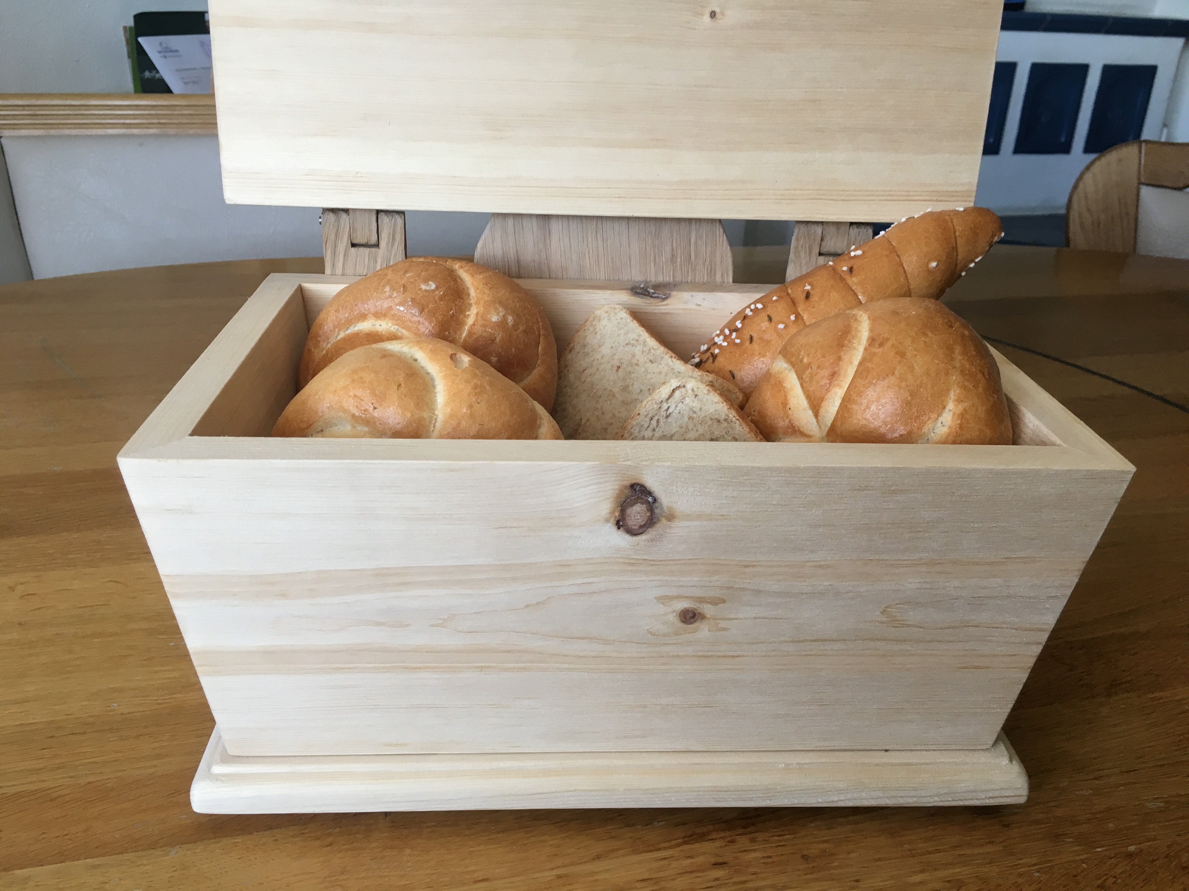 Zirben Brotdose (2)