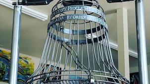 Liberty Bell Wine Cork Holder