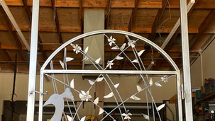 Art school gate