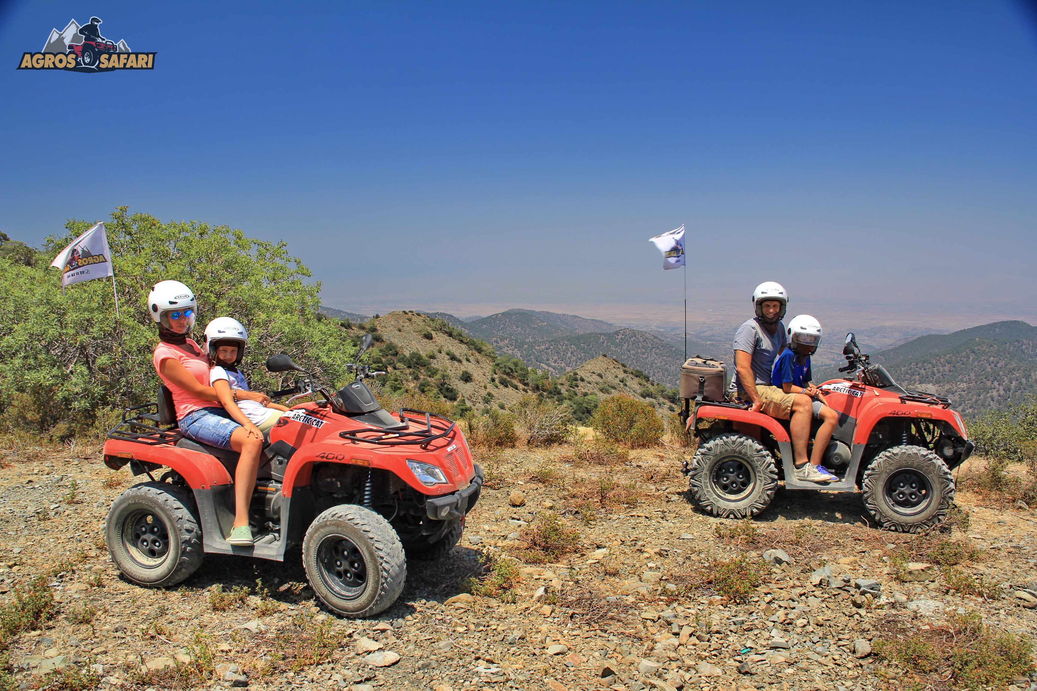 ATV mountain safari Cyprus