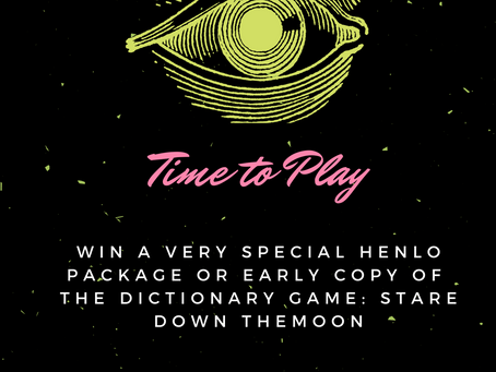 Time to Play: A Chance to Win - The Dictionary Game Edition